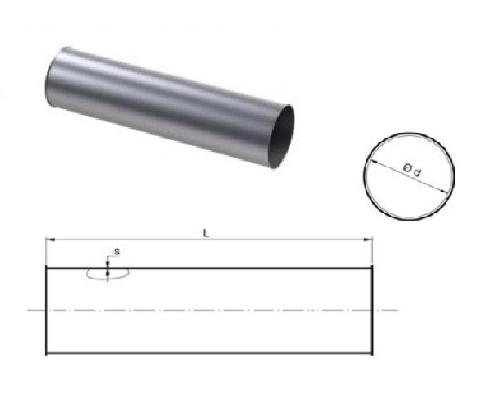 Rechte buis - 500mm